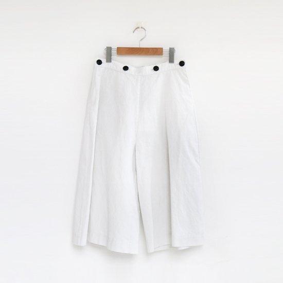 Atelier d'antan | キュロットパンツ〈 Etgar 〉White | A232201PP419