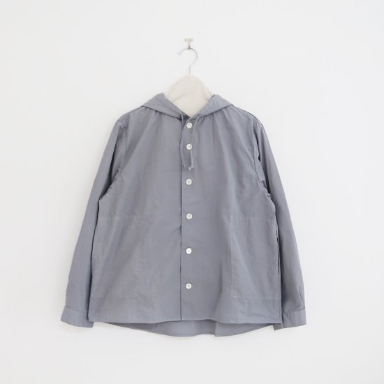 Charpentier de Vaisseau | フーデッドシャツ〈 Stefany 〉Grey | C003201TS361