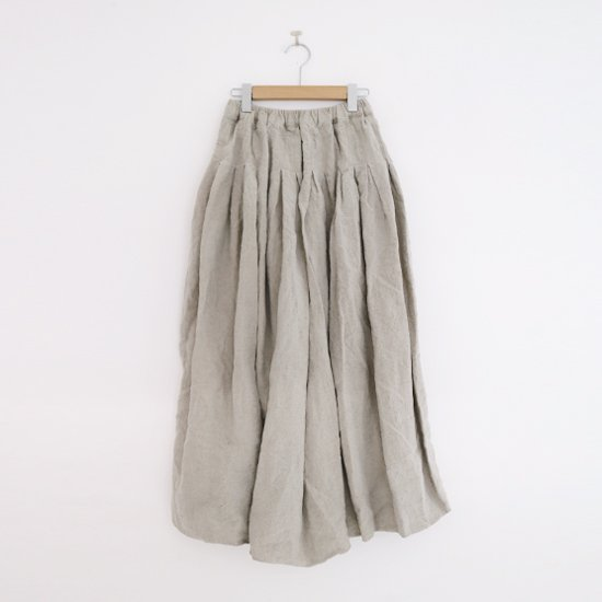 Ricorrrobe | リネンギャザースカート〈 Coco 〉Natural | D111201PS025