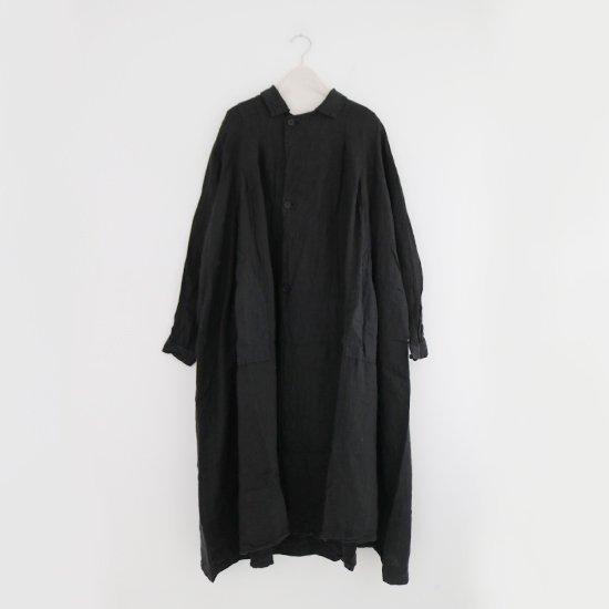Ricorrrobe | リネンタックコート〈 wg 〉Black | D111201TD019