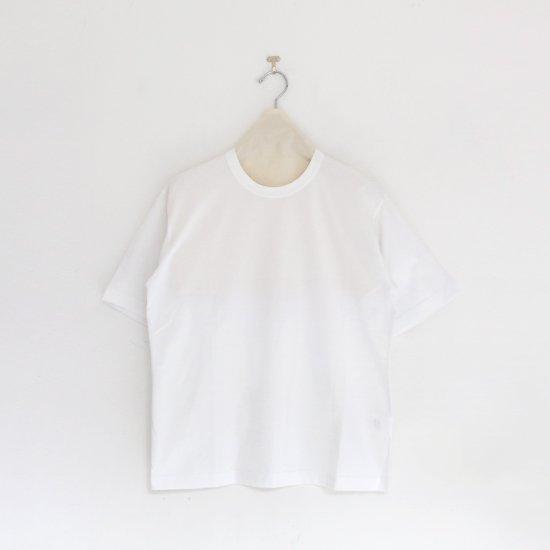 Charpentier de Vaisseau | クルーネックTシャツ〈 Jess 〉White | C003201TT393