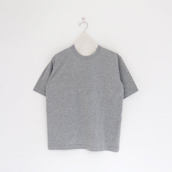 Charpentier de Vaisseau | クルーネックTシャツ〈 Jess 〉Grey | C003201TT393