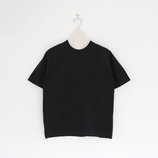 Charpentier de Vaisseau | クルーネックTシャツ〈 Jess 〉Black | C003201TT393