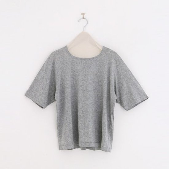 Atelier d'antan | クルーネックTシャツ〈 Neruda 〉Grey | A232201TT430
