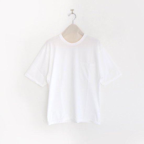 Charpentier de Vaisseau | クルーネックポケットTシャツ〈 Jude 〉White | C003201TT392