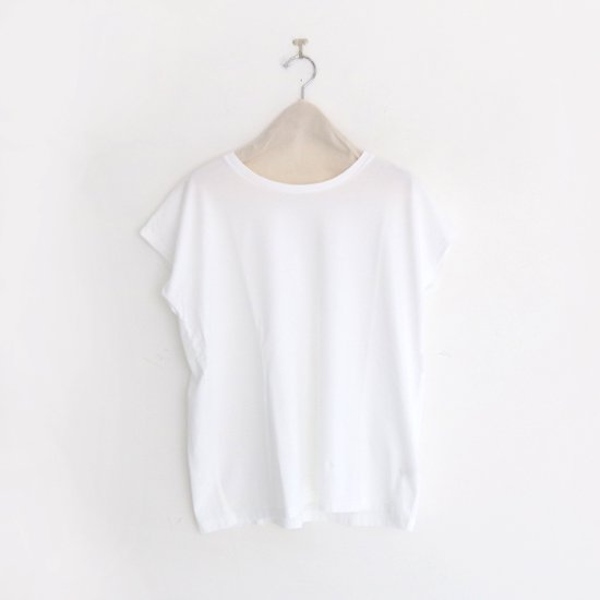 Charpentier de Vaisseau | フレンチスリーブTシャツ〈 Jeanne 〉White | C003201TT391