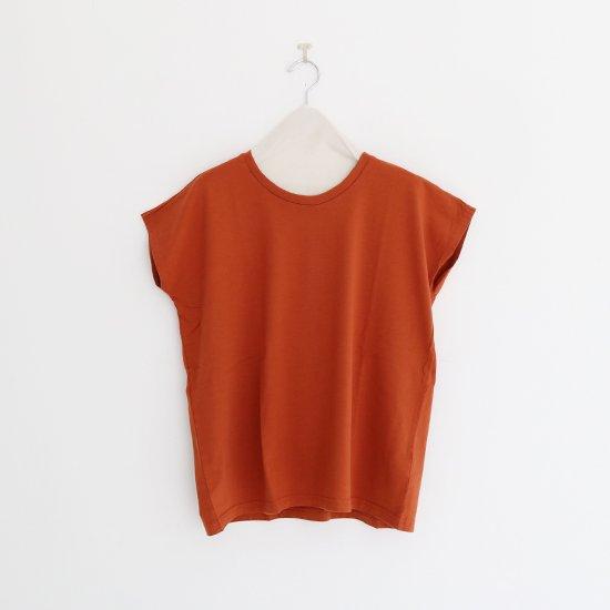 Charpentier de Vaisseau | フレンチスリーブTシャツ〈 Jeanne 〉Brown | C003201TT391