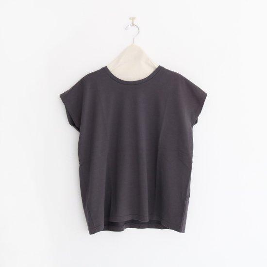 Charpentier de Vaisseau | フレンチスリーブTシャツ〈 Jeanne 〉Dark Grey | C003201TT391