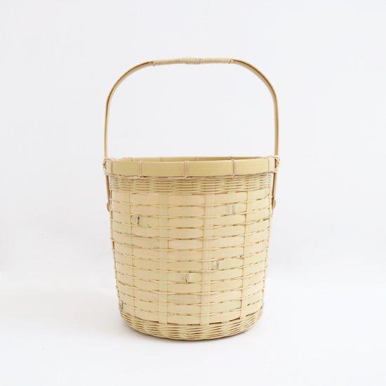 Atelier d'antan | バンブーバスケット〈 Delannoy 〉Natural | A232201BB479