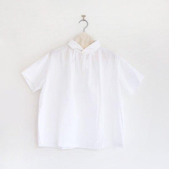 Gallego Desportes | ウェーブカラーシャツ White | D001201TS190 , 213