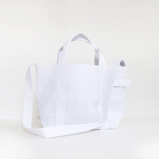 Tembea | クラブトートS キャンバス11 White | F021201BB304