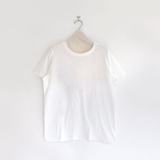 Yaeca | レディースUネックTシャツ White | F052181TT048