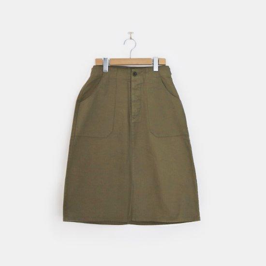 Charpentier de Vaisseau | Aラインスカート〈 Betty 〉Olive | C003202PS405