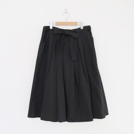 Atelier d'antan | ガーメントダイスカート〈 Certeau 〉Black | A232202PS474