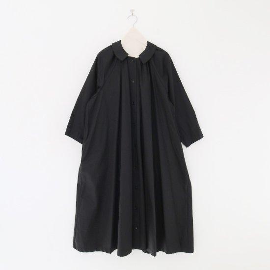 Atelier d'antan | コットンギャザーワンピース〈 Aimee 〉Black | A232202TD471