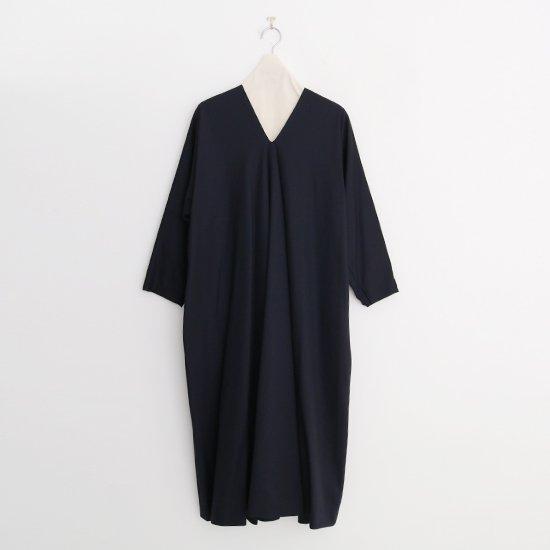Atelier d'antan | ウールギャバワンピース〈 Noiret 〉Black | A232202TD454