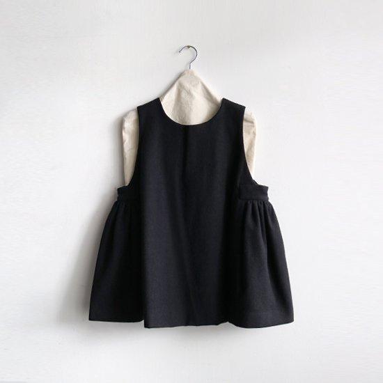 Atelier d'antan | ローデンクロスブラウス〈 Arbus 〉Black | A232202TS461