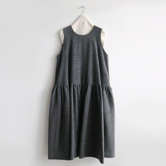 Atelier d'antan | ローデンクロスワンピース〈 Sorel 〉Grey | A232202TD458