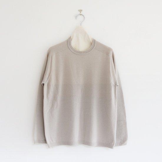 Charpentier de Vaisseau | ホールガーメントウールニット〈 Klay 〉Light Grey | C003202TK419