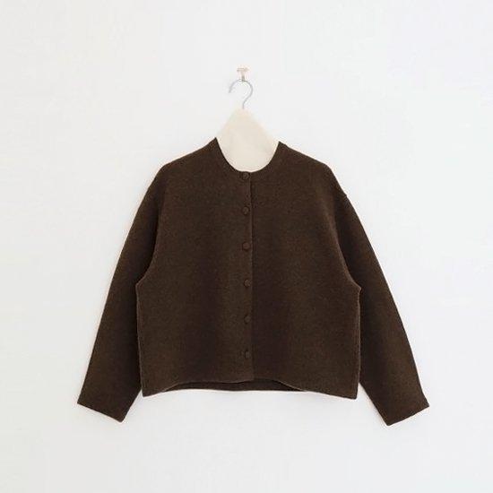 Atelier d'antan | ニットカーディガン〈 Tiele 〉Brown | A232192TK394
