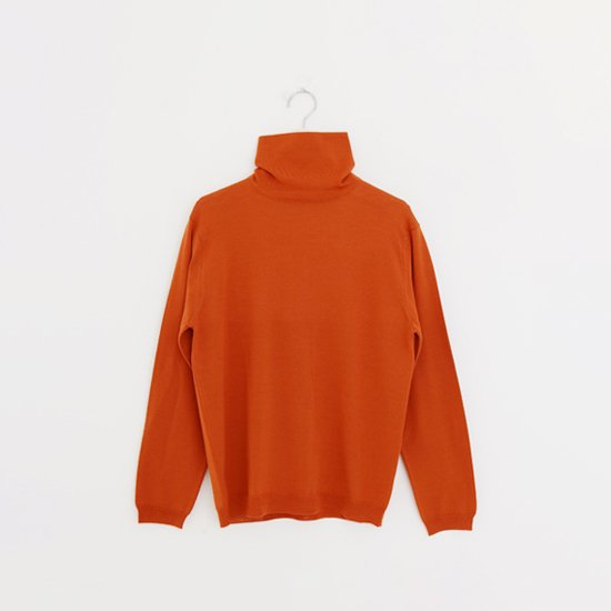 Charpentier de Vaisseau | ハイゲージウールタートルネックニット〈 Kiia 〉Orange | C003182TK289