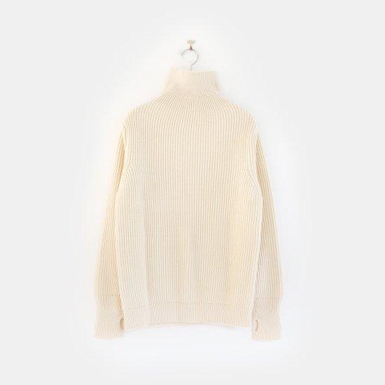 Andersen-Andersen | タートルネックセーター Natural | F044152TK003
