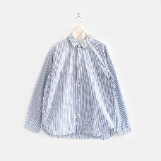Yaeca | メンズコンフォートシャツ Blue Stripe | F052171TS011