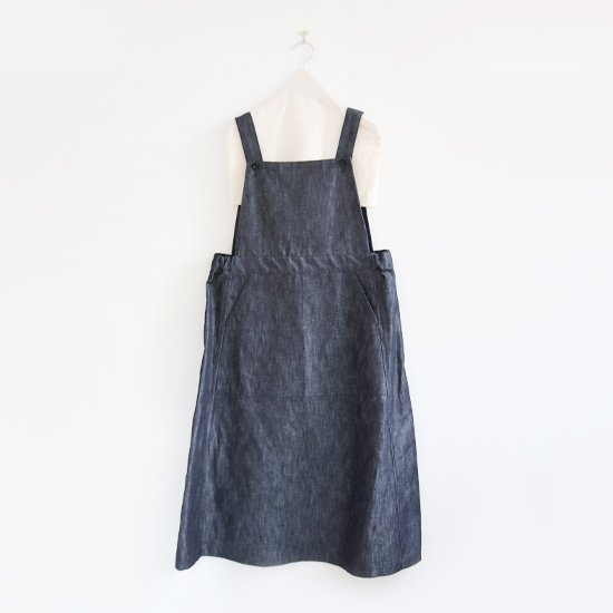 Charpentier de Vaisseau | ジャンパースカート〈 Dorothy 〉Dark Indigo | C003191TD312