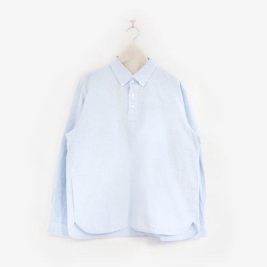 Yaeca | メンズコットンプルオーバーシャツ  Light Blue | F052211TS140