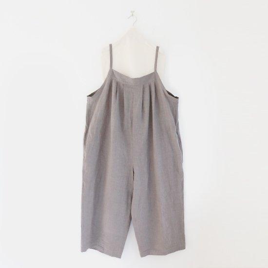 Atelier d'antan | リネンサロペット〈 Blunck 〉Grey | A232211PP492
