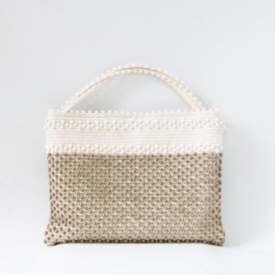 Antonello Tedde | ハンドバッグ〈 Sorso S Bicolor 〉Natural×Beige | F046211BB021