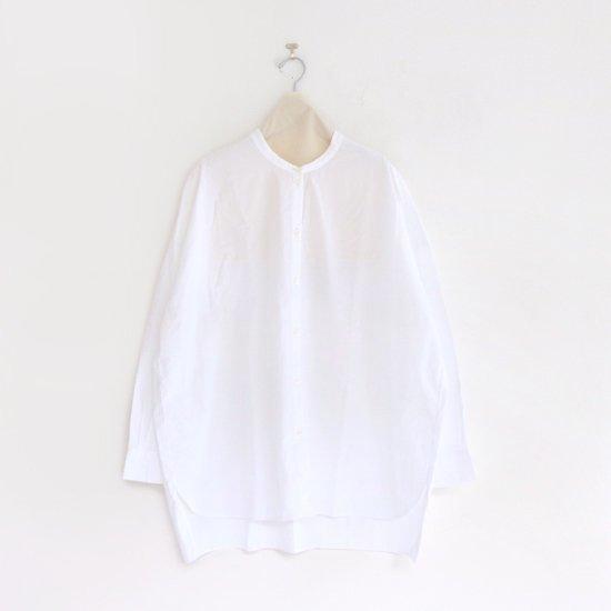 Gallego Desportes | バンドカラーシャツ White | D001211TS214