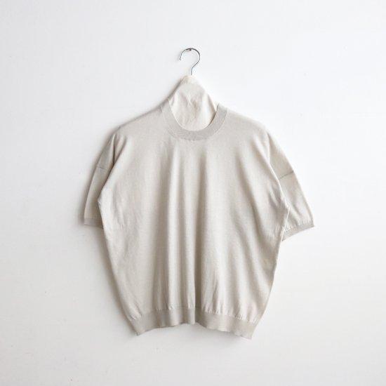 Atelier d'antan | コットンニット〈 Ruben 〉Light Grey | A232211TK505