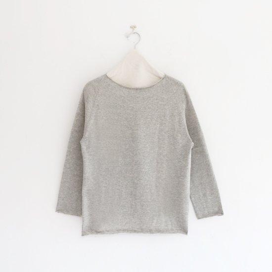 Charpentier de Vaisseau | ホールガーメントニット〈 Keeley 〉Grey | C003211TK467