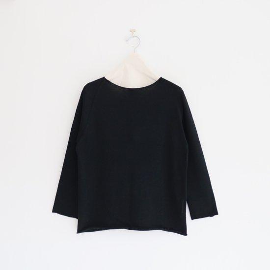 Charpentier de Vaisseau | ホールガーメントニット〈 Keeley 〉Black | C003211TK467