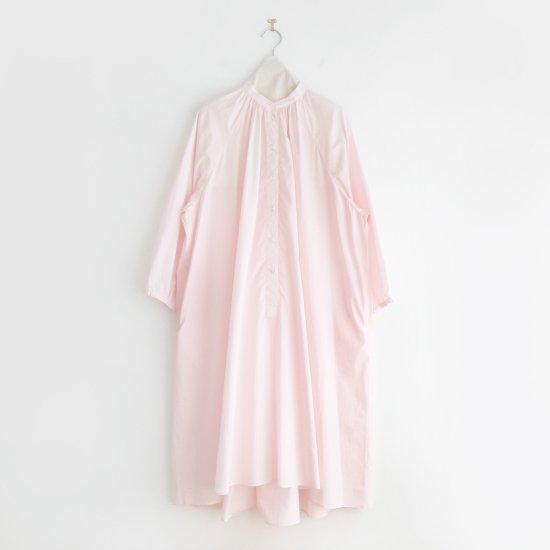 Atelier d'antan | ライトコットンギャザーシャツドレス 〈 Cuvier 〉 Pink | A232211TD502