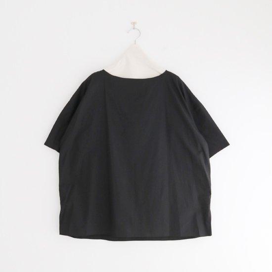 Atelier d'antan | ライトコットンプルオーバーブラウス〈 Carrel 〉Black | A232211TS500