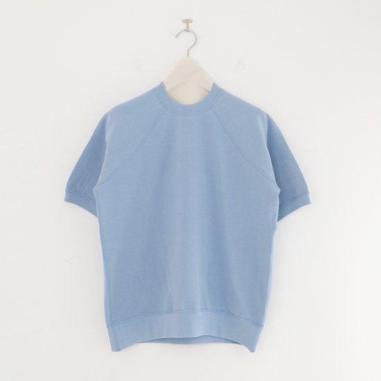 Charpentier de Vaisseau | ショートスリーブスウェット〈 Jo 〉Light Blue | C003201TT389
