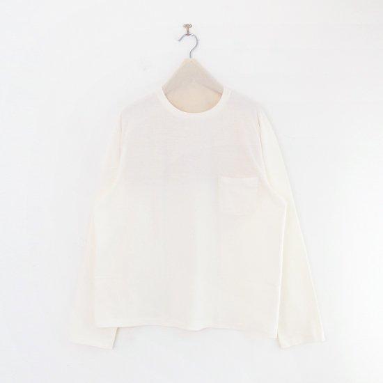 Yaeca | メンズロングスリーブTシャツ White | F052211TT147