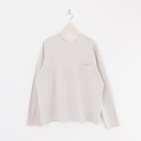 Yaeca | メンズロングスリーブTシャツ Beige | F052211TT147
