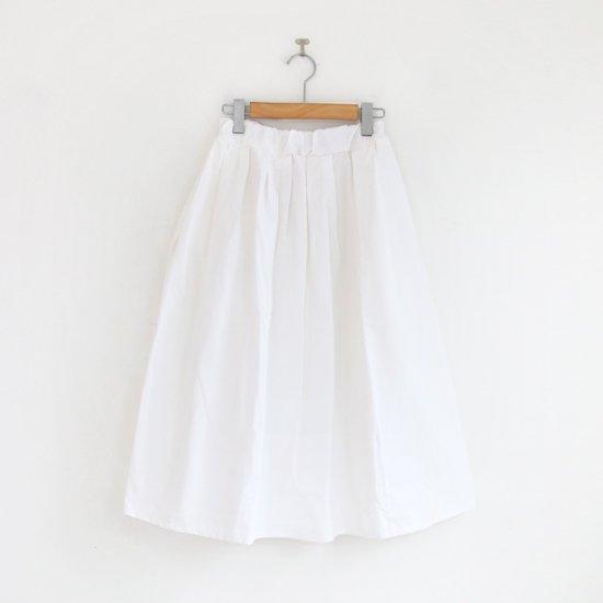 Gallego Desportes | ギャザースカート White | D001211PS219