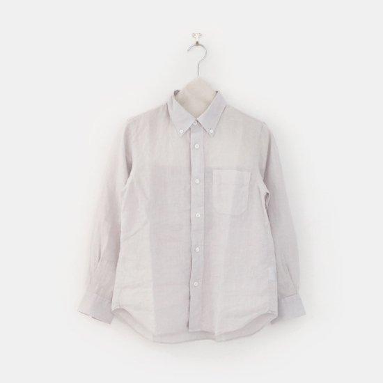 Charpentier de Vaisseau   リネンシャツ〈 Sant 〉White   C003211TS428