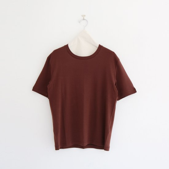 Babaco | フライスTシャツ Brown | F048211TT080