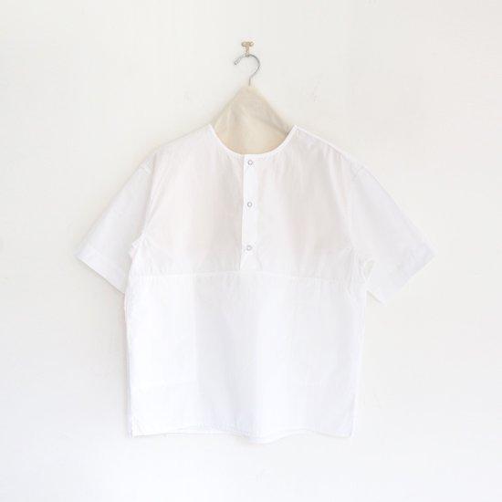 Charpentier de Vaisseau   3リングボタンシャツ〈 Selma 〉White   C003211TS432