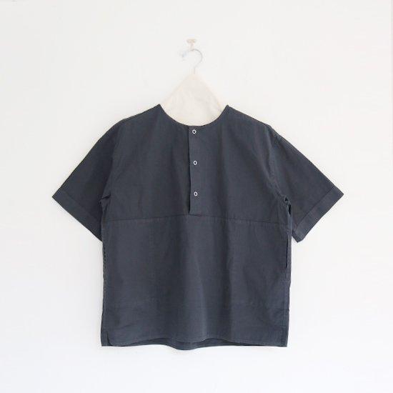 Charpentier de Vaisseau   3リングボタンシャツ〈 Selma 〉Dark Grey   C003211TS432