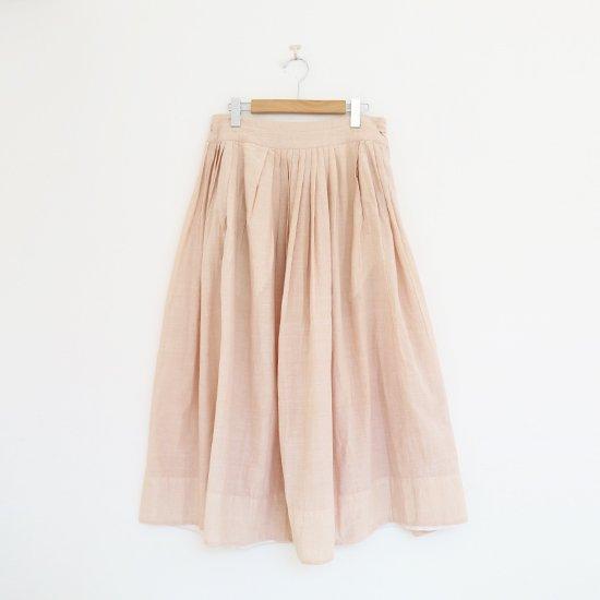 Khadi and Co. | アンドラプレインギャザースカート〈 VIOLET 〉Beige | D012211PS349