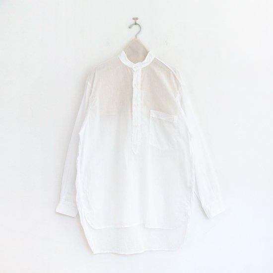 <img class='new_mark_img1' src='https://img.shop-pro.jp/img/new/icons3.gif' style='border:none;display:inline;margin:0px;padding:0px;width:auto;' />Comoli   ベタシャンプルオーバーシャツ White   F035211TS153