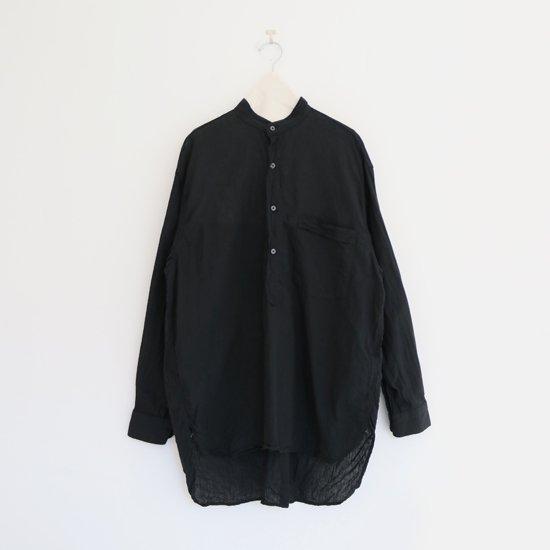 Comoli   ベタシャンプルオーバーシャツ Black   F035211TS153