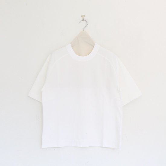 <img class='new_mark_img1' src='https://img.shop-pro.jp/img/new/icons54.gif' style='border:none;display:inline;margin:0px;padding:0px;width:auto;' />Charpentier de Vaisseau   ラグランスリーブTシャツ〈 Joyce 〉White   C003211TT472