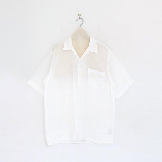 Comoli   ベタシャンオープンカラーシャツ White   F035211TS155